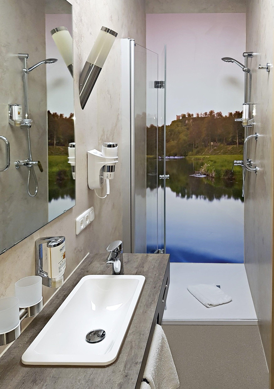 Badezimmer Wandgestaltung